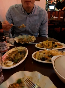 An amazing vegetarian buffet for two at You & Me Chinese in Bowness upon Windemere